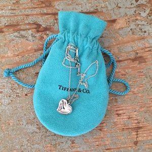Tiffany & Co. Elsa Peretti Heart Pendant Necklace